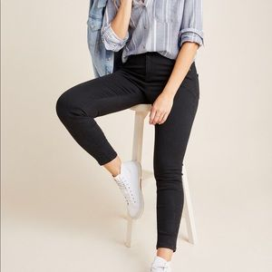 Pilcro High Rise Black Denim Jegging 30/31